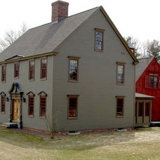 Traditional Exterior by Classic Colonial Homes, Inc.
