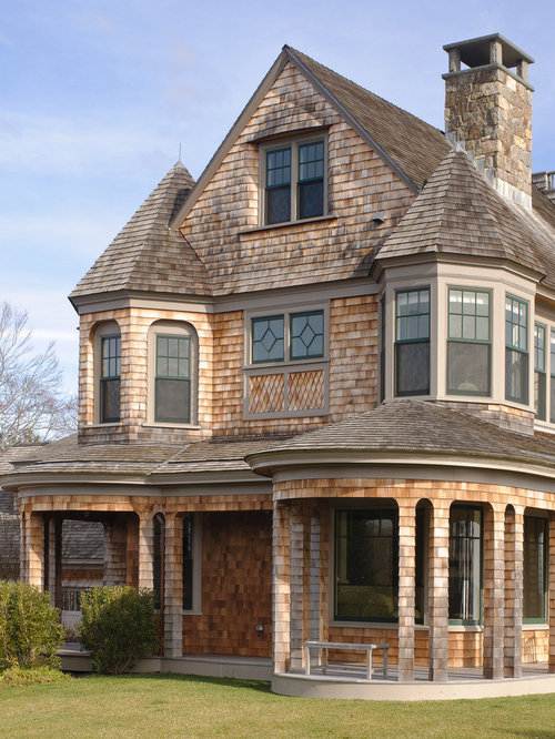 Shingle style house home design ideas pictures remodel for Victorian shingles