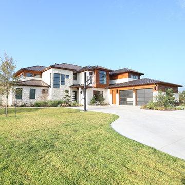 Cedar Hills, Texas Contemporary View #1