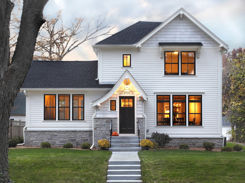 Traditional Exterior by Awad + Koontz Architects Builders