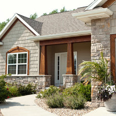 Traditional Exterior by Skogman Homes