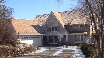Cedar roofing - Alternating Exposure