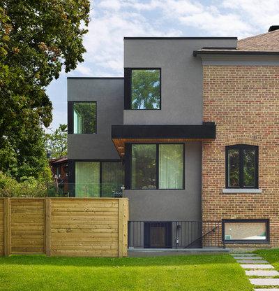 Moderne Hus & facade by Jillian Aimis Architect