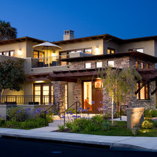 Eclectic Exterior by Friehauf Architects Inc.
