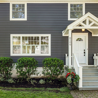 Trendy exterior home photo