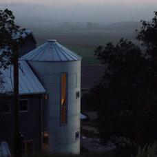 Farmhouse Exterior by Leonard Temes Design