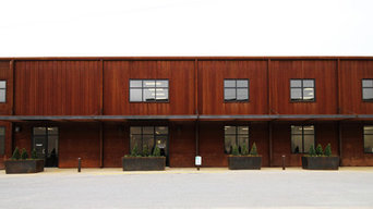 Central Steel Service Constructs Office Building from Weathering Steel Products