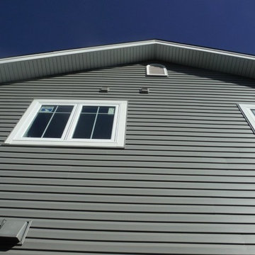 CertainTeed Charcoal Gray Vinyl Siding   Brentwood, MO. (63144)