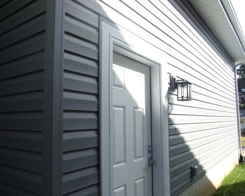 Certainteed Charcoal Gray Vinyl Siding Brentwood Mo