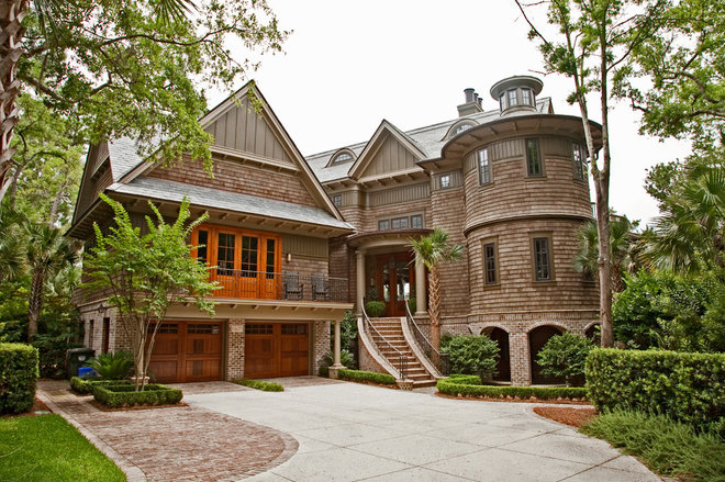 Traditional Exterior by Charleston Home + Design Mag