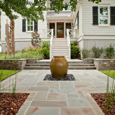 Asian Exterior by Charleston Home + Design Mag