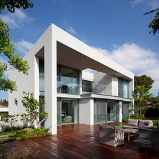 Contemporary Exterior by Domb architects