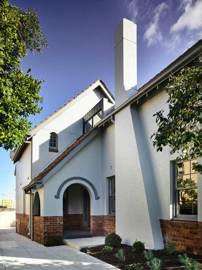 Contemporary Exterior by Luke Fry Architecture & Interior Design