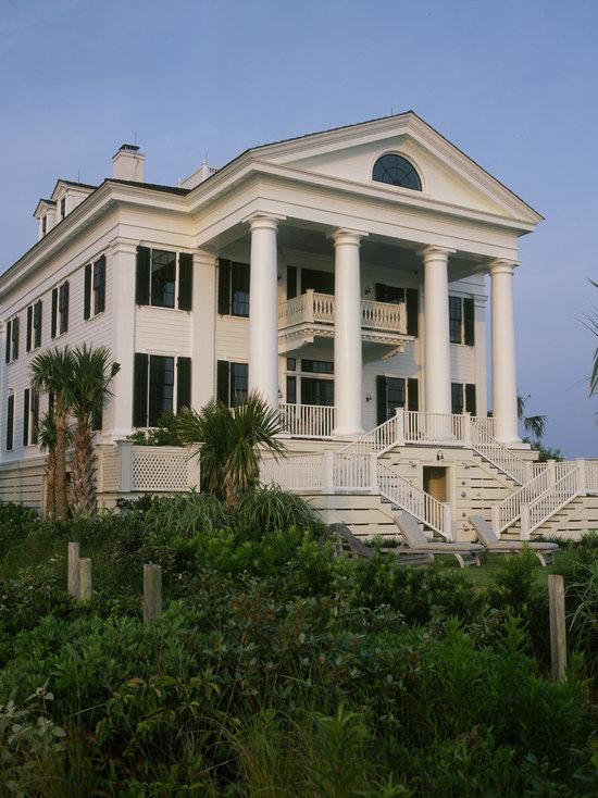 greek revival house plans | houzz