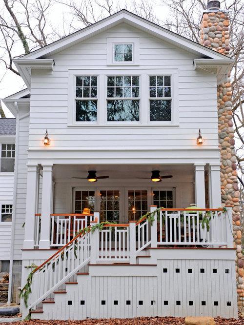 Foto e idee per facciate di case facciata di una casa for Piani di case modulari con 2 master suite