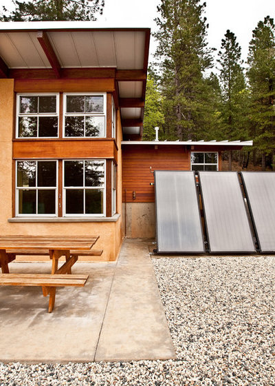 Houzz Tour California Cabin Ditches The Power Grid