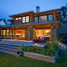 Contemporary Exterior by Peter Rose Architecture and Interiors