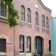 Eclectic Exterior by Sandvold Blanda Architecture + Interiors LLC