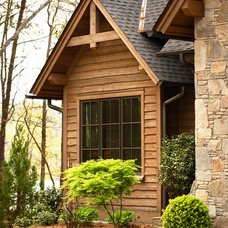 Rustic Exterior by Markalunas Architecture Group