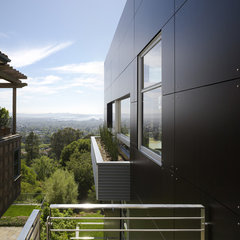 contemporary exterior by Charles Debbas Architecture