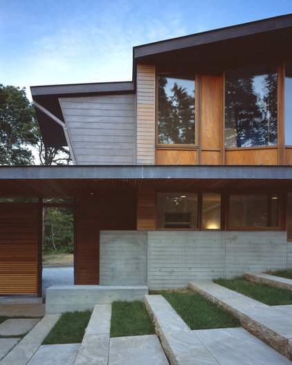 Contemporary Exterior by Charles Rose Architects Inc.