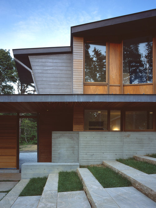 Modern Terrace Houzz