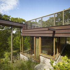 Modern Exterior by Charles Rose Architects Inc.