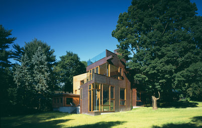 Find High Architecture When Home Gently Meets Ground