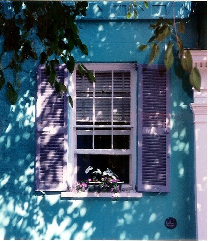 Purple shutters ideas pictures remodel and decor - Try out exterior paint colors online ...