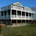 New Hampshire Lake House Traditional Exterior Boston