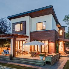 Contemporary Exterior by Marre Design Group