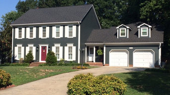 Charlotte NC Hardie Plank Replacement Siding