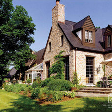 Traditional Exterior by Chelsea Court Designs