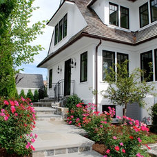 Traditional Exterior by Dave Tilly & Associates LLC