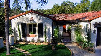 Charming Spanish Revival Home in Montecito, California