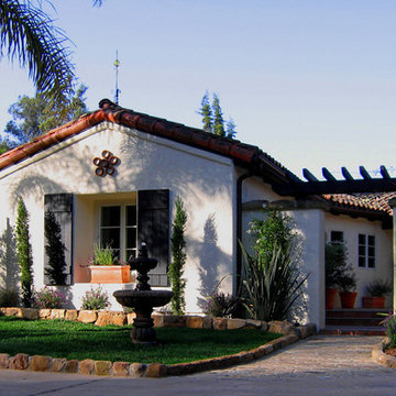 Charming Spanish Style Courtyard and Home in Montecito, CA