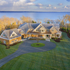 Contemporary Exterior by Aquidneck Properties