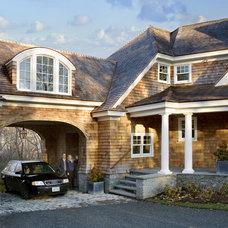 Contemporary Exterior by Aquidneck Properties