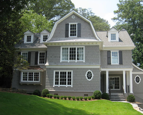 Sherwin williams gray exterior houzz for Keystone grey sherwin williams exterior