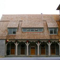 Traditional Exterior by Kurt Baum & Associates