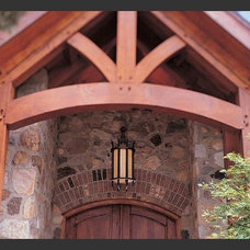 Traditional Exterior by Hammerton Lighting