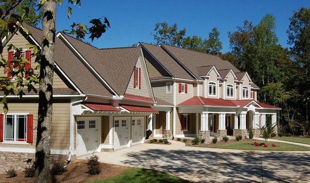 Traditional Exterior by DK Designs, Inc