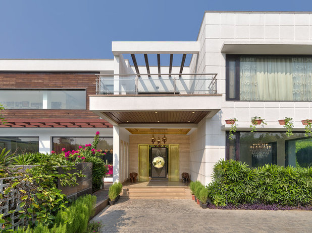 Eclectic Exterior by Altus - Luxury Living