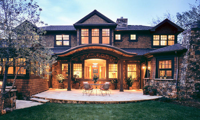 Traditional Exterior by Sopher Sparn Architects LLC