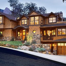 Traditional Exterior by SSArchitects
