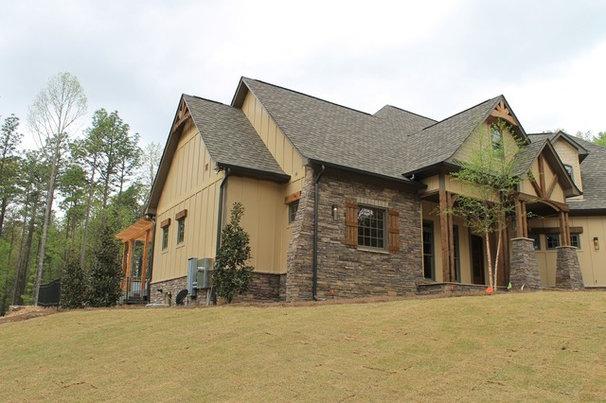 Craftsman Exterior by Rusert Custom Homes