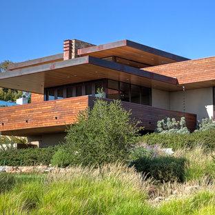 Foto på ett orientaliskt hus, med platt tak