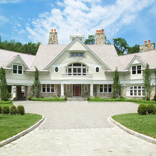 Traditional Exterior by Granoff Architects