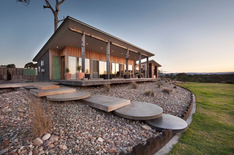Country Exterior by Adam Hobill : Design