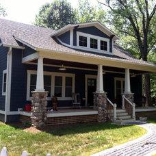 Traditional Exterior by Hiday Custom Builders, LLC